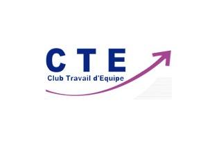 Logo du club travail d'équipe, CTE, réseau de consultants et formation en management, organisation et développement.